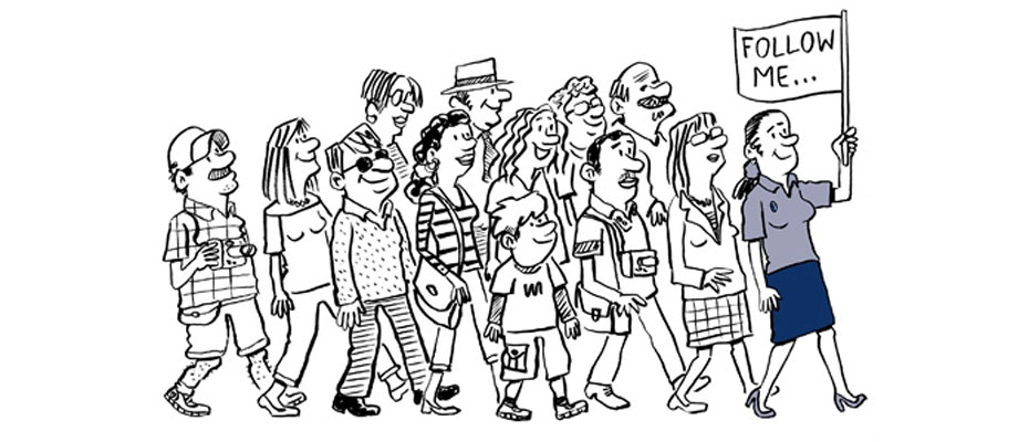 passeggiatà comunità